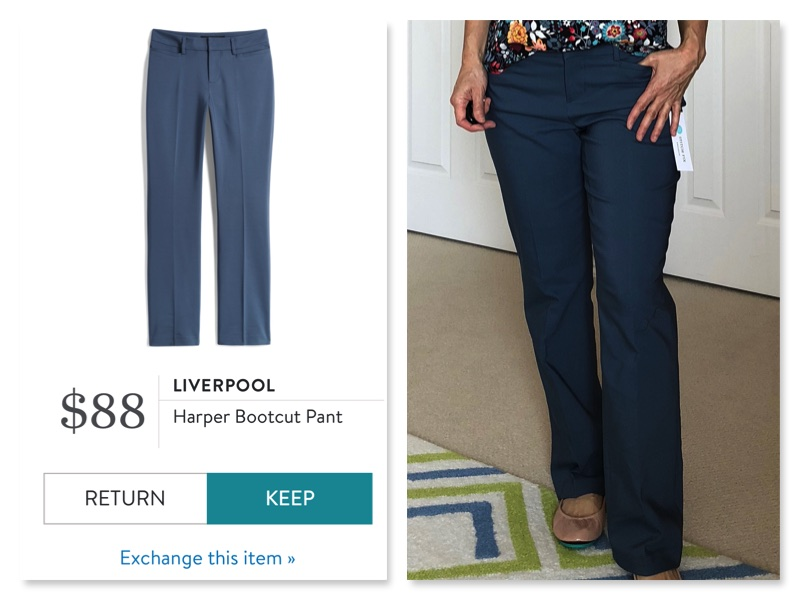 Stitch Fix Liverpool Bootcut Pants